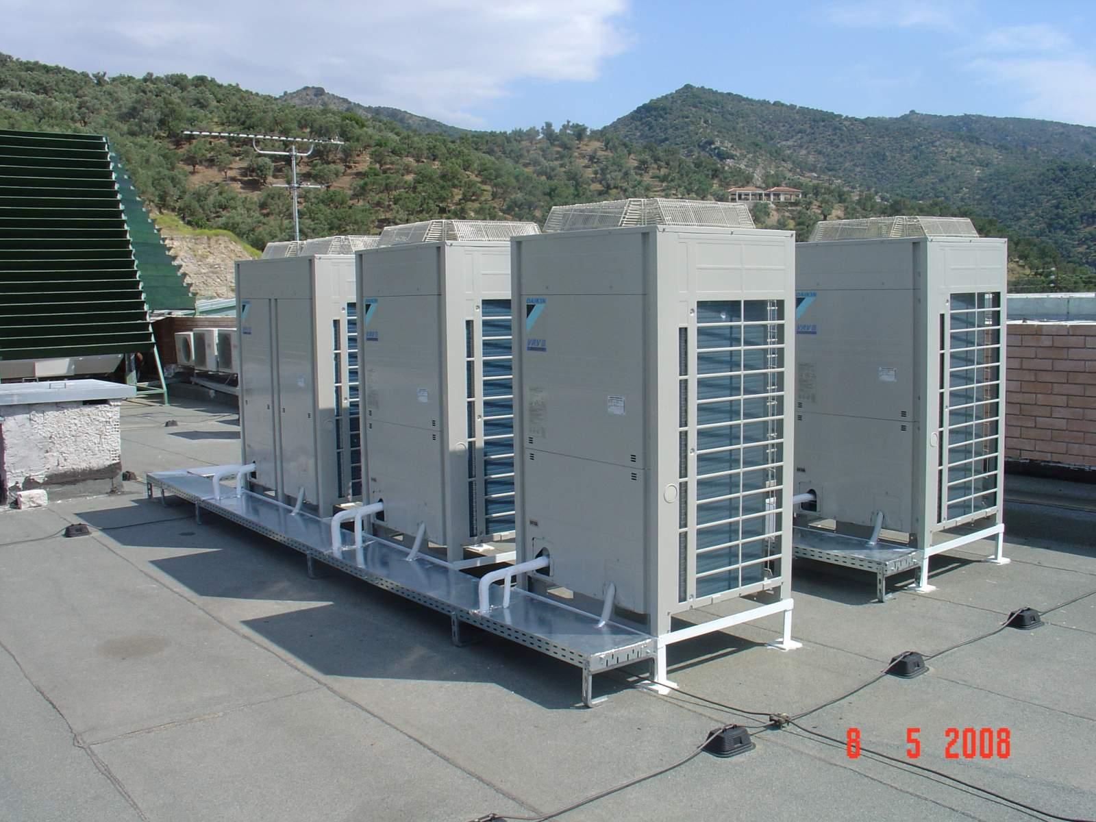 Climatisation drv vrf vrv tertiaire climatisation for Comparativa aire acondicionado daikin mitsubishi